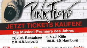 "Musical Story, ""4 ever & ever – my life and Pink Floyd"". Ein Musical zelebriert die Musik der bekannten Prog-Rock-Band!"