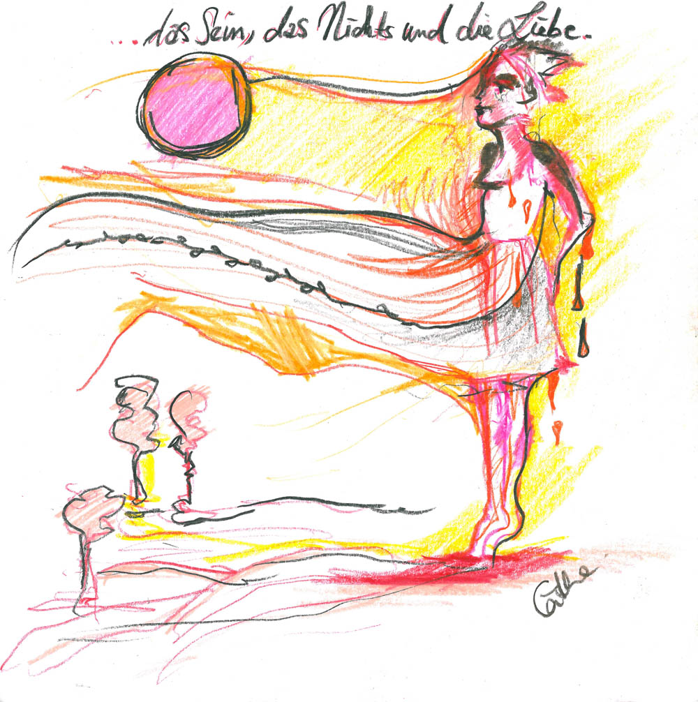 """Interview mit Cäthe, August 2013 - Bild zu """"Das Sein, das Nichts und die Liebe."""""""