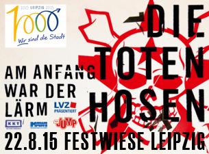 Toten Hosen Tickets 2015 Leipzig
